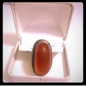 sterling silver/amber Jewelry - ⚡️Amber Ring⚡️ 30% off